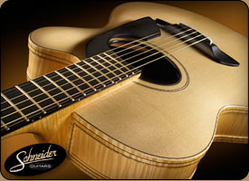 handmade acoustic guitars custom built
